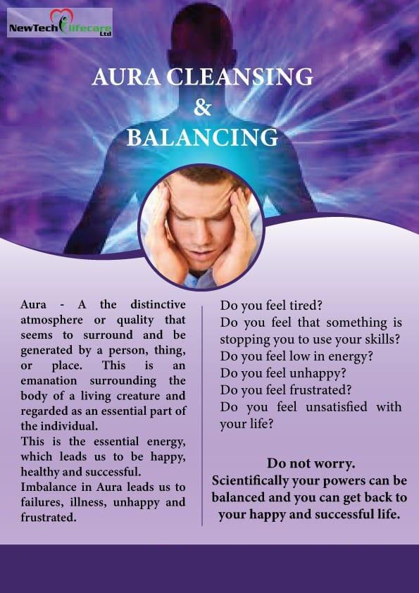 Aura cleansing & Balancing